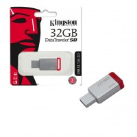 Kingston 32 GB DT50/FR USB 3.0 METAL-RED