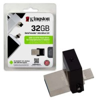 Kingston 32 GB DTDUO3 USB 3.0 Black