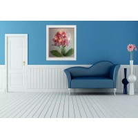Canvas Wall Art White LED