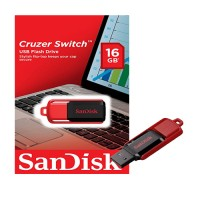 Sandisk 16 GB Z52 CRUZER Switch Black-Red