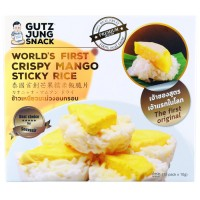 Crispy Mango sticky rice