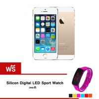 REFURBISHED iPhone5S 16 GB (gold) + Silicon Watch
