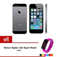 REFURBISHED iPhone5S 16 GB (Black) + Silicon Watch