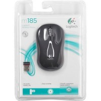 Logitech Wireless Mouse M185-BK