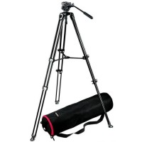 Manfrotto Tripod VDO MVT502+Head MVK500AM - Black