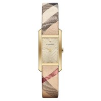 Burberry Pioneer Gold Dial Gold Ion-plated Ladies