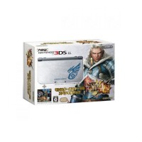 3DS New Nintendo 3DS LL - Metal Silver + Monster Hunter 4G Limited Edition