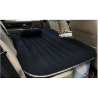 DRIVE TRAVEL Black Inflatable Car Mattress Thicker