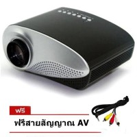 ISMART RD802 LED Projector VGA All in one - สีดำ