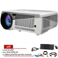 ISMART V86+LED 3D HD WXGA WIFI Android 4000 lumens