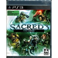 PS3 Sacred 3 First Edition English Asia
