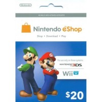 3DS Nintendo Prepaid Card THB 678.61 /US$20 / for US network only