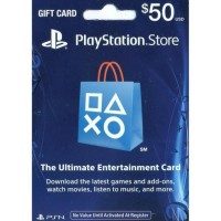 PlayStation Network Card (US$ 50) / for US network only)