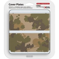 New Nintendo 3DS Cover Plates No.044 (Mario Camouflage Green)