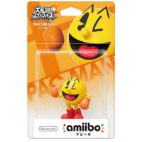 WII Nintendo Wii U amiibo Super Smash Bros. Series Figure (Pac-Man) (Japan)