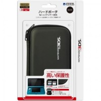 3DS Hori Hard Pouch - Black