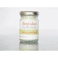 Unscented Soy Candles เทียนไขถั่วเหลืองบริสุทธิ์