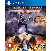 PS4 Saints Row IV Re-Elected & Gat Out of Hell (Asia)