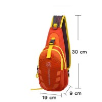 Tanluhu Cross Body Chest hiking Bag  (สีส้ม)