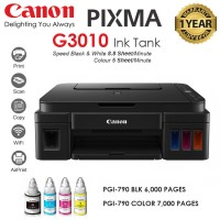 Canon PIXMA G3010 Inkjet Printer + INK TANK