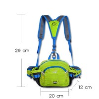 Tanluhu Pocket Outdoor sport bag (สีเขียว)