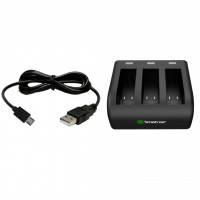 S07 SMATREE 3 Channel charger for GoPro