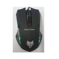 Mouse Nubwo Lucien nm-10 สีดำ