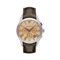 Emporio Armani AR1790 Chronograph Brown Leather Wa