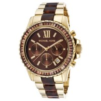 Michael Kors Glitz and Glamour Chronograph Brown D