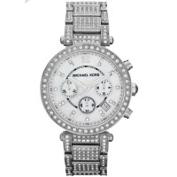 Michael Kors Parker Mother of Pearl Dial Crystals