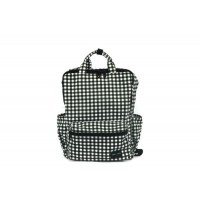 Hapitas Back Pack(H) - Gingham Black